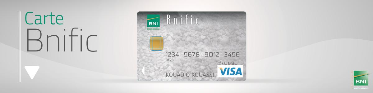 Visa Prepayee Bnific Produits Et Services Bni Banque Nationale D Investissement